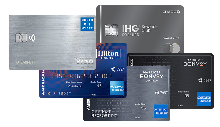 free annual night credit cards
